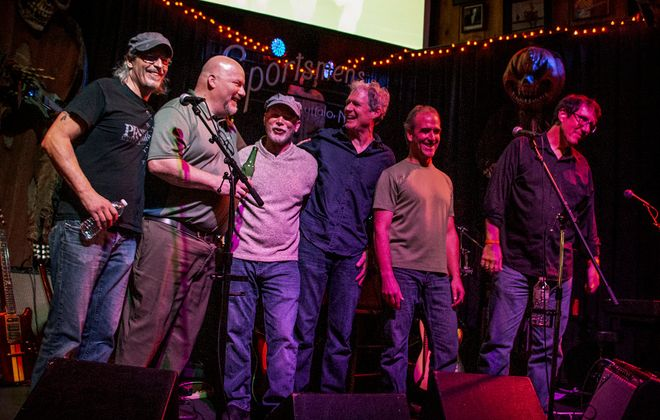 Wild Knights, one of the first jam-bands to make a big splash in Buffalo, have reunited to find that demand for their music remains high. (Photo courtesy of Greg Meadows)