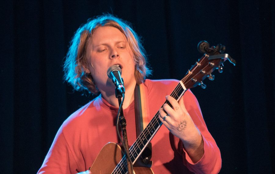 Ty Segall performed a killer solo acoustic set at Buffalo Iron Works on Nov. 4. (Photo by Dan Almasi)