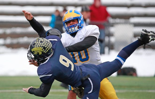 Cleve Hill lost to Susquehanna Valley on Saturday. (Harry Scull Jr./Buffalo News)