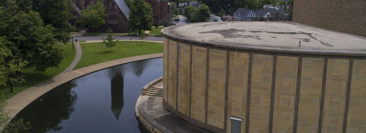 The Babel literary series has called Kleinhans Music Hall home since 2009. (Derek Gee/Buffalo News)