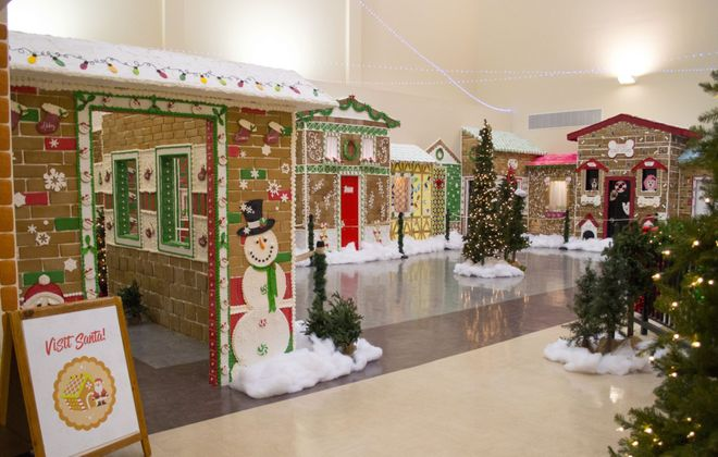 The Gingerbread Wonderland at the Niagara Falls Culinary Institute. (Contributed photo)
