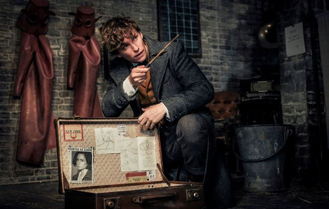 """Eddie Redmayne returns as Newt Scamander in this sequel to the 2016 film """"Fantastic Beasts and Where To Find Them."""" (Jaap Buitendijk/Warner Bros. Pictures)"""