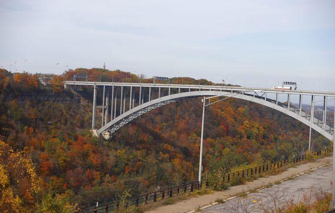 The Lewiston-Queenston Bridge. (John Hickey/News file photo)