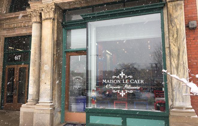 Crêpes are coming to the Washington Street side of the Market Arcade. (Andrew Galarneau/Buffalo News)