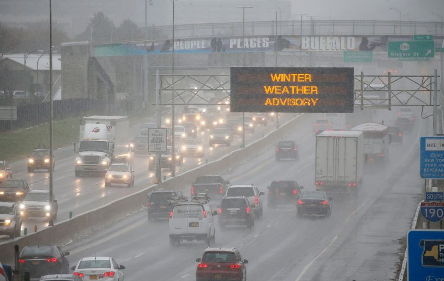 A winter weather advisory is posted for Western New York. (Derek Gee/Buffalo News file)