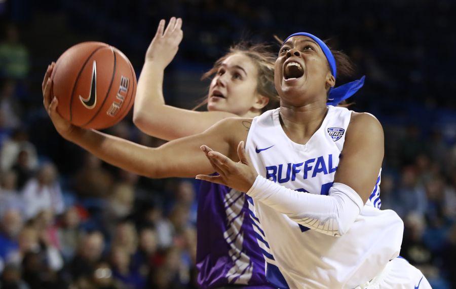 University at Buffalo guard Cierra Dillard scored 31 points Saturday against Kent State. (Harry Scull Jr./News file photo)
