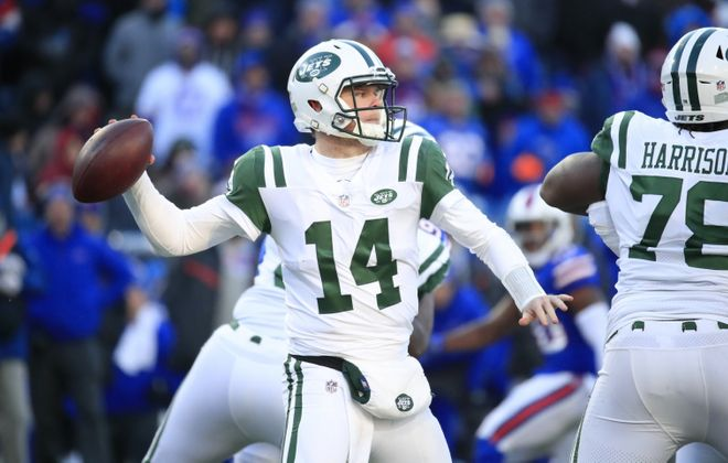 Jets quarterback Sam Darnold (Harry Scull Jr./Buffalo News file photo)