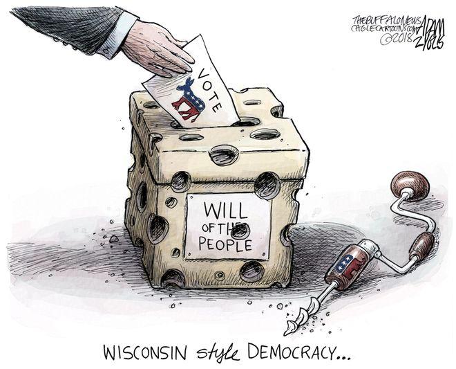 Midwest ballot box