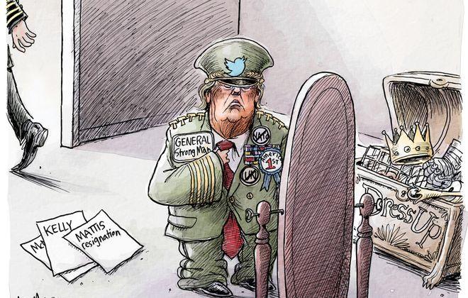 General Mattis resigns: December 22, 2018