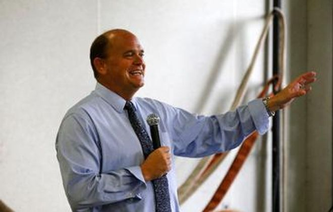 The Problem Solvers Caucus, with Rep. Tom Reed of Corning leading its Republican contingent, compromised on its demands and won enough concessions to agree to support Nancy Pelosi for House Speaker. (Mark Mulville/Buffalo News)