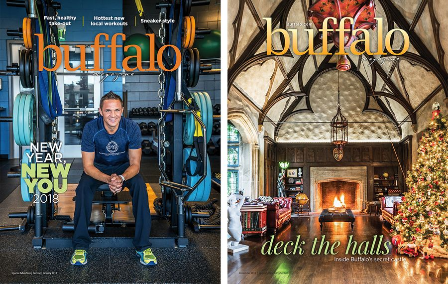 2018: A year in Buffalo Magazine covers