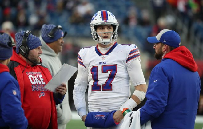 If Josh Allen takes a big step forward in 2019, the Buffalo Bills could defy expectations. (James P. McCoy/Buffalo News)