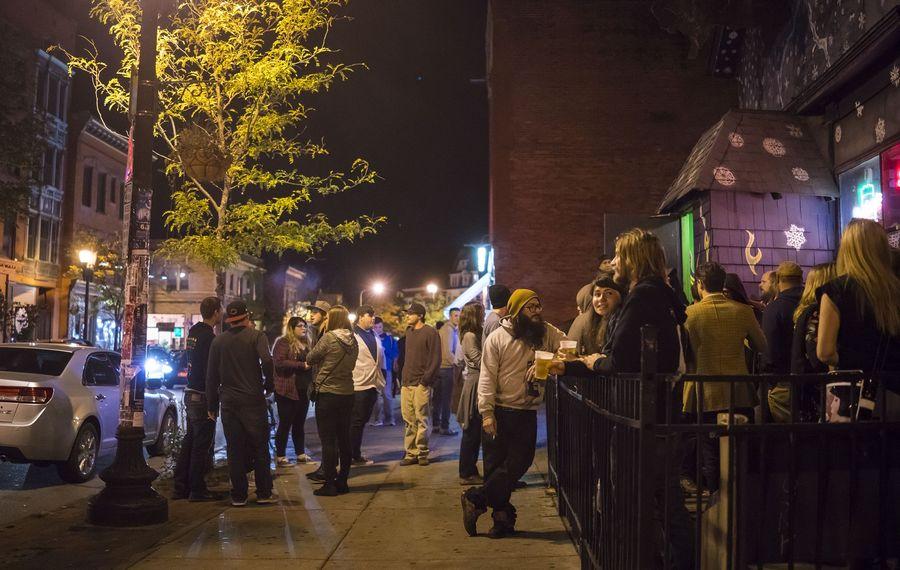 "Jeff Miers spent a  recent fall afternoon and evening in ""the old, weird, Bohemian Buffalo"" of Allentown. (Derek Gee/Buffalo News)"