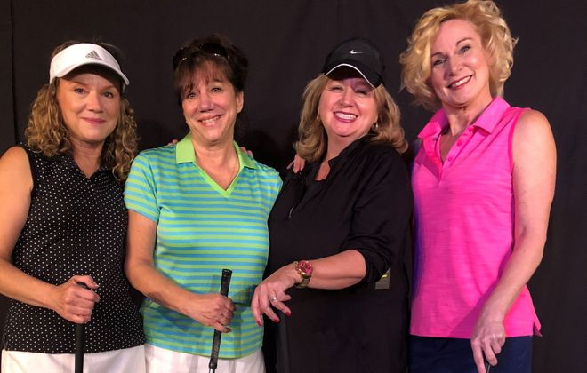 """""""The Ladies Foursome"""" offered a nice mix of humor and honesty at Desiderio's Dinner Theatre. (via Desiderio)"""