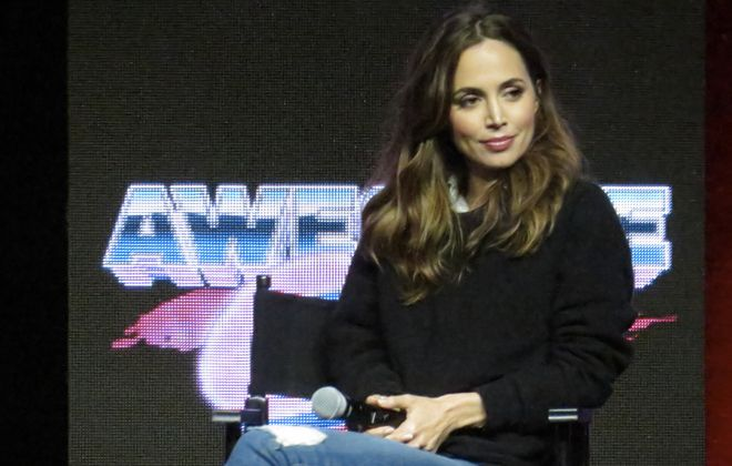 "Eliza Dushku won a $9.5 million settlement after she said co-star Michael Weatherly harassed her on the set of the TV show ""Bull."" (Evan Golub/ZUMA Wire/TNS)"