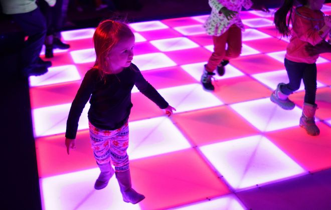 First Night Buffalo will add several new features Tuesday evening for the 31st installment of the drug- and alcohol-free First Night Buffalo celebration at the Buffalo Niagara Convention Center, including upgrades to its dancing room. (Derek Gee/News file photo)