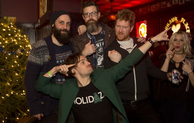 CPX-mas gives Christmas a country-punk flavor in Buffalo. (Val Sauers/Special to The News)