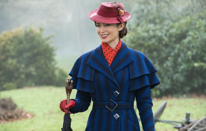 """""""Mary Poppins Returns"""" is a popular choice of summer outdoor movies. (Walt Disney)"""