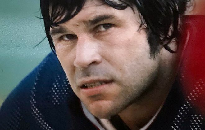 Former Bills center Mike Montler.