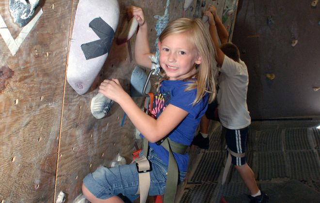 Indoor rock climbing at Niagara Climbing Center is a great way to stay active in colder months. (Courtesy of Niagara Climbing Center)
