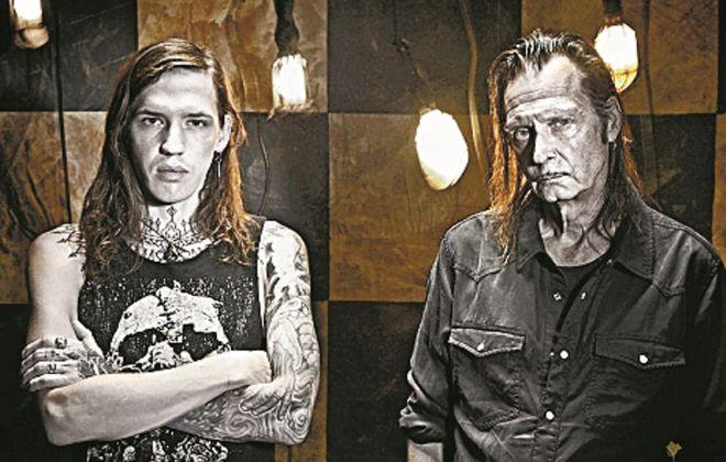 John Toohill, left, and David Kane of Night Slaves. (Photo courtesy of Artist)