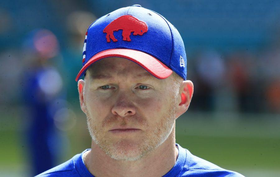 Bills head coach Sean McDermott. (Harry Scull Jr./News file photo)