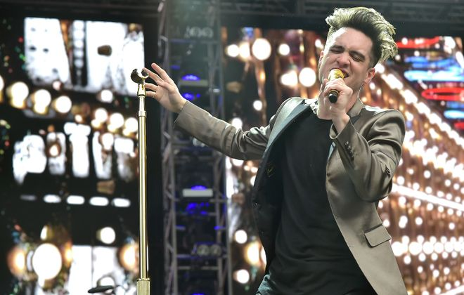 Brendon Urie of Panic! at the Disco. (Getty Images)
