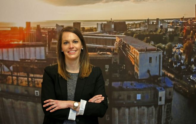 Amanda Mays was just named regional director of Empire State Development for Western New York. (Robert Kirkham/Buffalo News)