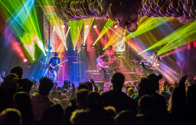 Aqueous plays the Town Ballroom on New Year's Eve. (Photo by Zachary Todtenhangen)