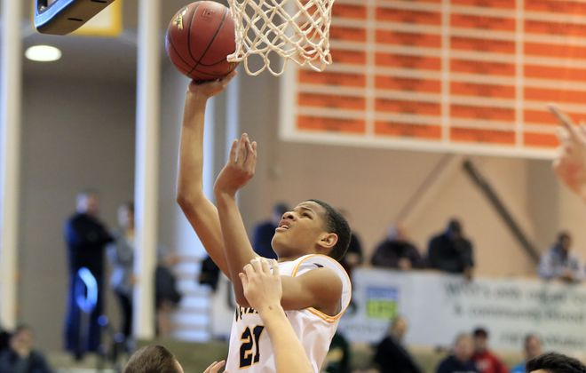 Roddy Gayle, who's transferred to Lew-Port from Niagara Falls, is just a freshman but still a player to watch. (Harry Scull Jr./ News file photo)