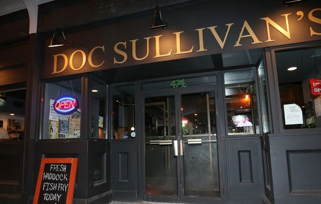 Filming at Doc Sullivan's took place in early spring, according to co-owner Tommy Cowan. (Sharon Cantillon/News file photo)
