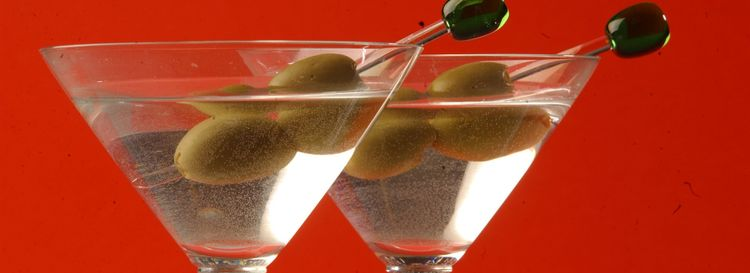 """Jeff Simon writes, """"If you want to make me really happy before dinner, just give me a Ketel One martini on the rocks made a little 'dirty' by a splash of brine from the olive jar. """" (Sharon Cantillon/News file photo)"""