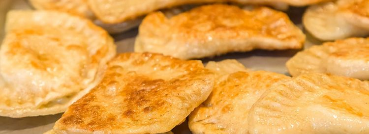 Ru's chicken wing pierogi, and apple pierogi, will be profiled by the Cooking Channel. (Don Nieman/Special to The News)