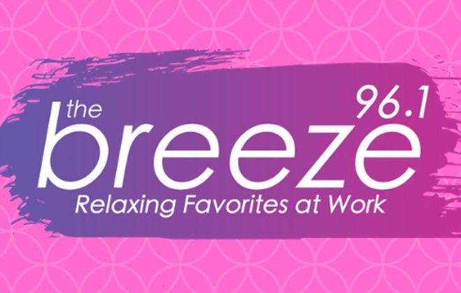 Mix 96 becomes The Breeze; changes format to work-friendly, 'relaxing favorites'