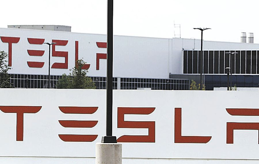 Tesla's solar energy deployments are at a five-year low. (Derek Gee/ News file photo)