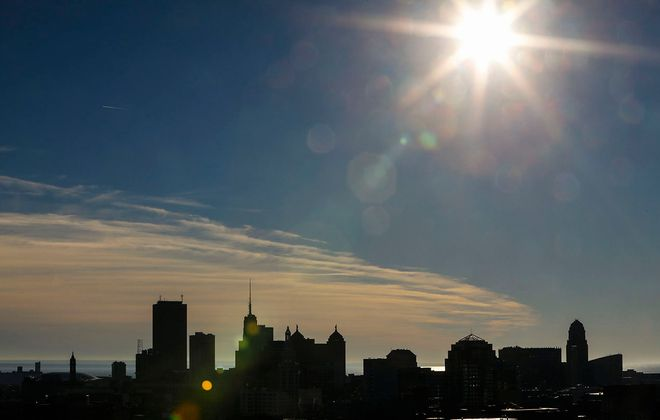Sunny skies are in the forecast for the early part of this week, but temperatures will remain cold, the National Weather Service said. (Derek Gee/News file photo)
