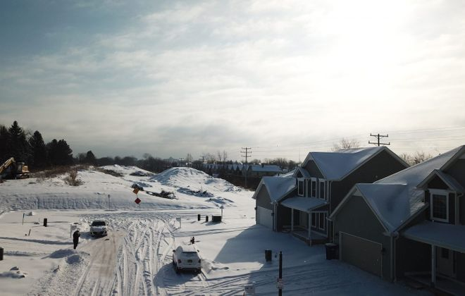 The Colvin Estates subdivision that Marrano Homes is building in North Buffalo. (John Hickey/Buffalo News)