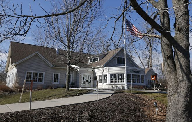 The Burchfield Nature and Art Center building on Union Road. (Robert Kirkham/Buffalo News)