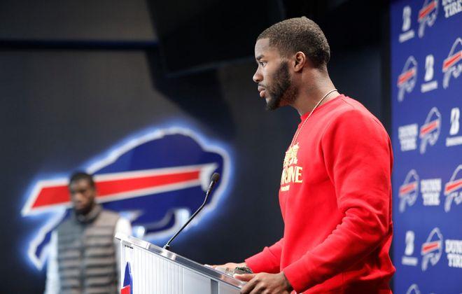 Buffalo Bills wide receiver John Brown. (Derek Gee/Buffalo News)