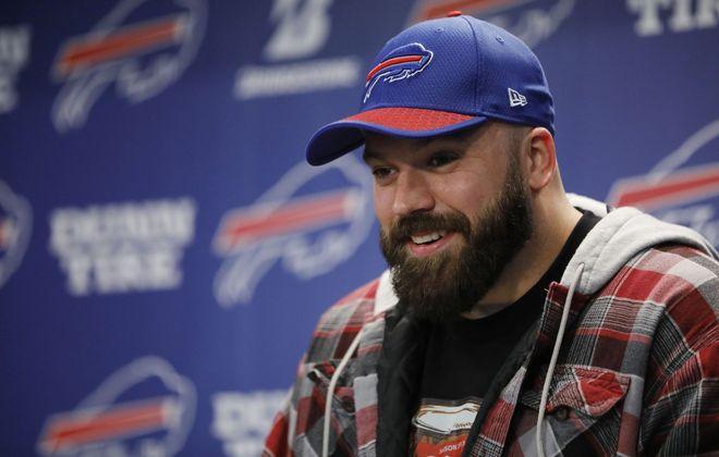 Buffalo Bills center Mitch Morse. (Derek Gee/News file photo)