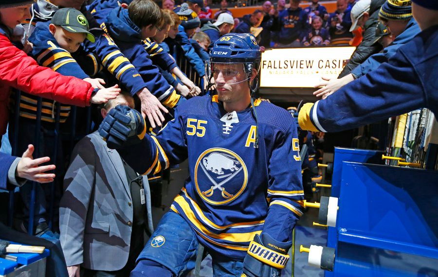 Sabres defenseman Rasmus Ristolainen is expected to join his teammates on Tuesday. (Harry Scull Jr./News file photo)