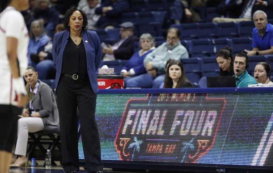Buffalo coach Felisha Legette-Jack expects a big effort for her team. (Harry Scull Jr./Buffalo News)