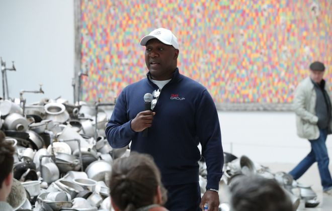 Former Bills running back Thurman Thomas is among more than 1,400 current or retired athletes asking Congress to end qualified immunity for police. (James P. McCoy/News file photo)
