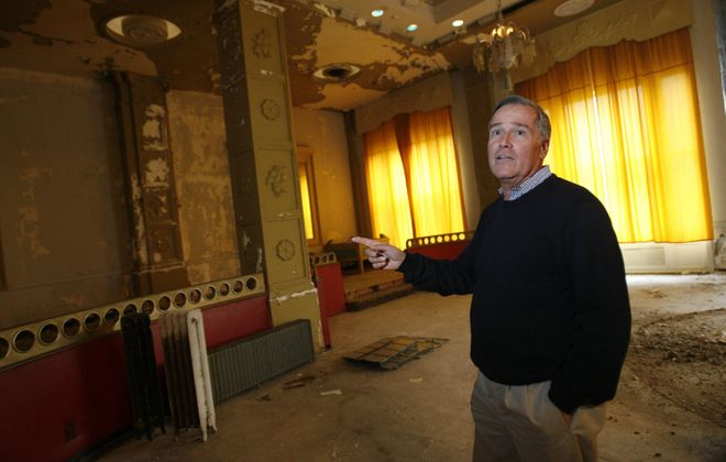 Developer Rocco Termini was able to rescue Buffalo's deteriorating Hotel Lafayette through the use of historic tax credits. A proposed prevailing wage law would put such projects in jeopardy. ( Sharon Cantillon/Buffalo News file photo)