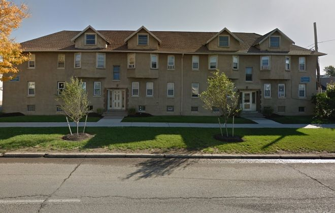 Nick Sinatra sold this apartment building and two others on Elmwood Avenue in Kenmore to another investor. (Google)