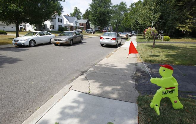 Woodcrest Boulevard and the rest of residential streets in the Town of Tonawanda are now free to be parked on overnight. (Mark Mulville/Buffalo News file)