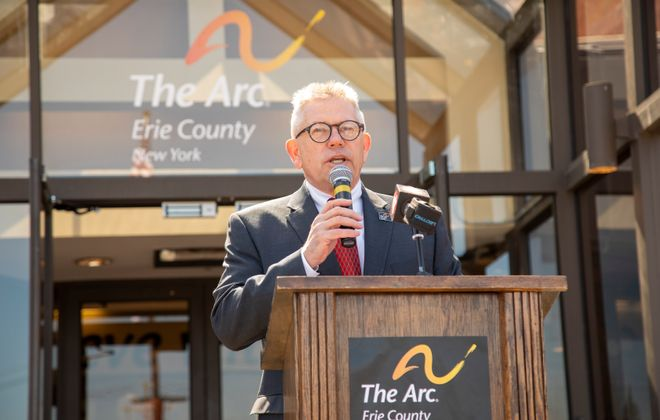 """We are always looking for ways to bring programming closer to where the individuals we serve live,"" said Douglas DiGesare, CEO of The Arc Erie County. (Courtesy of The Arc Erie County)"