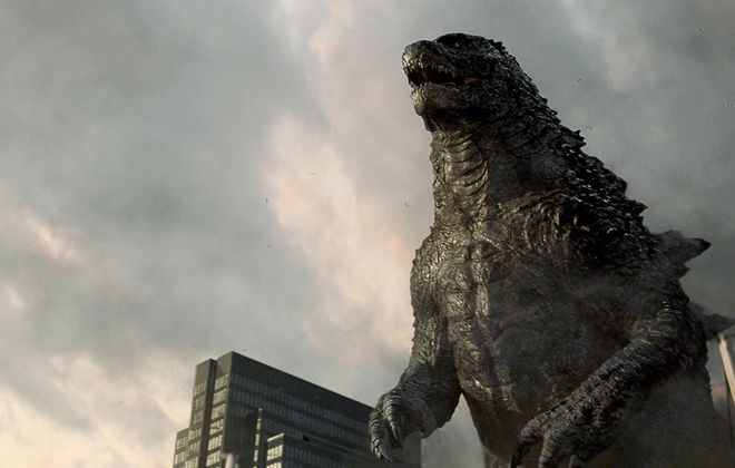 """George Root III had been a devoted fan of the """"Godzilla"""" movies since he was a child.  (Courtesy of Warner Bros. Pictures)"""
