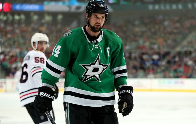 Dallas Stars winger Jamie Benn has 25 goals among 46 points in 65 games this season. (Getty Images)