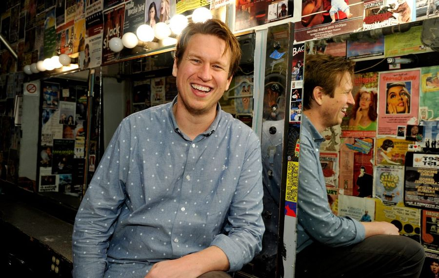 """Pete Holmes' """"Crashing"""" on HBO has come to an end. (Getty Images for Vulture Festival)"""